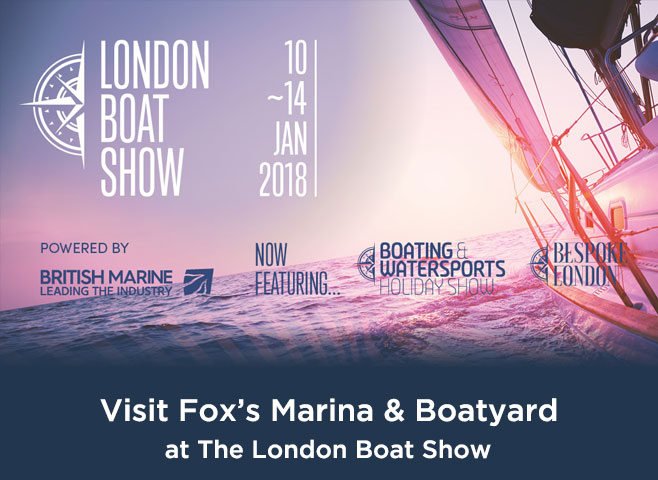 Foxs-at-The-London-Boat-Show-Banner