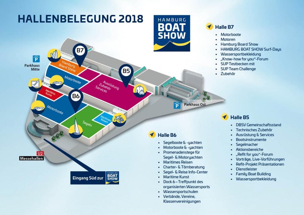 Hamburg BoatShow_Hallenübersicht-2018