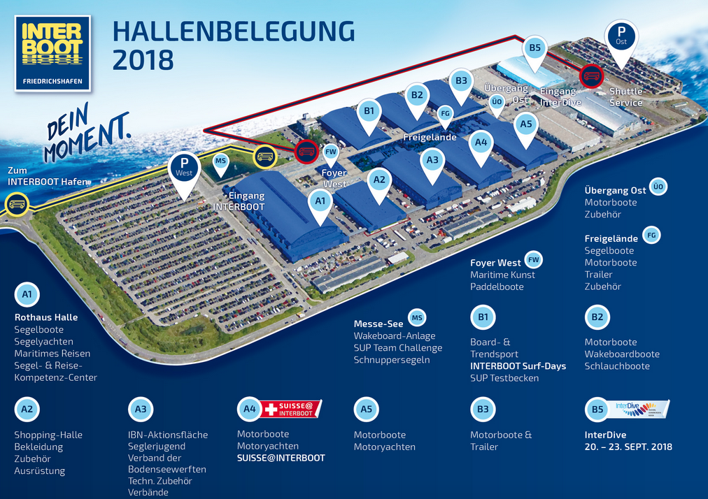 Interboot Hallenbelegung