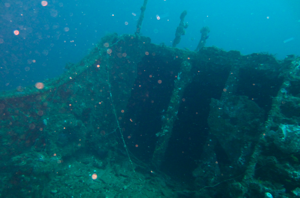 Wreck in 60mtr depth_